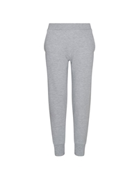 Grey Tapered Joggers