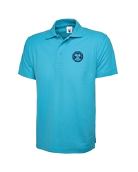 Sky Embroidered Polo Shirt