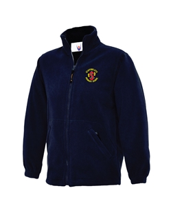 Navy Embroidered Fleece